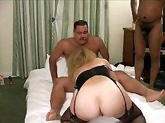 Hot Mustache Daddy-Bear in a gang nail