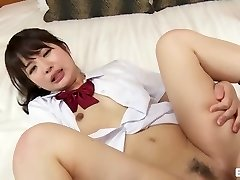 'Japanese Schoolgirl Nubile Horny And Fucked [UNCENSORED]'