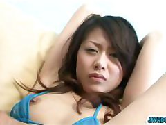 Mini bikini and hands tied up high Hina Aisawa pussy good vibrations