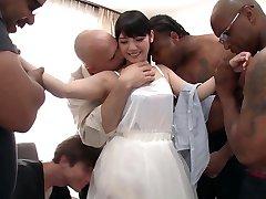 Rei Mizuna in Rei Does Her First Interracial Gangbang - TeensOfTokyo
