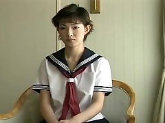 Uncensored japanese schoolgirl