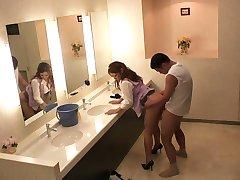 Hottest Japanese chicks Sho Nishino, Yumi Kazama in Amazing JAV censored Fingering, Big Tits scene