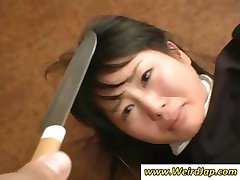 Asian maids get humiliated and treated like crap in this clip