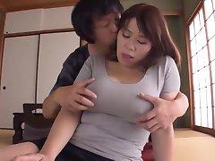 Gorgeous Japanese Girl Has Big Milky Nipples