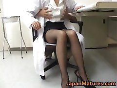 Amazing nurse is a hot mature gal part5