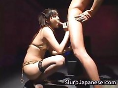 Hot japanese slut rimming some guy part5