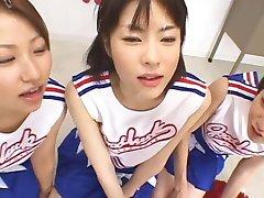 japanese schoolgirls facial