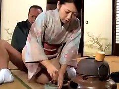 japanese KIMONO milf