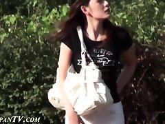 Japanese ho secretly pees
