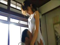 Japanese girl is fucked before she teaches and when she teaches