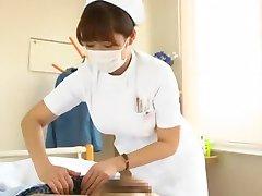 Fabuleux modèle Japonais Megu Fujiura dans la plus chaude de l'Infirmière, Gros Seins JAV vidéo