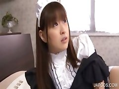 Asian maiden gets nipples rubbed
