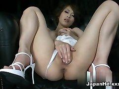 Crazy pornstar Saki Ootsuka in Best Solo Girl, Dildos/Toys porn clip
