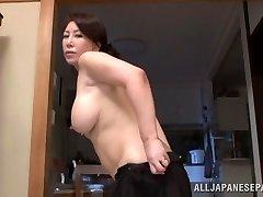 Wako Anto hot mature Japanese babe in pose 69