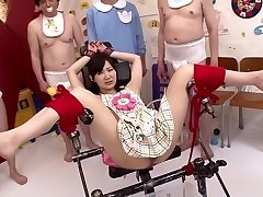 Super-naughty Japanese slut Maki Hoshikawa in Best bdsm, getting off JAV movie