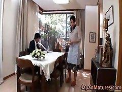 Insatiable japanese mature babes blowing part4