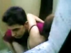 indonesian Maid Fuck With Pakistani Stud in Hong Kong Public Rest Room