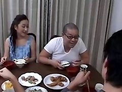 46yr old Asian Mom Teaches not her Step Son (Uncensored)