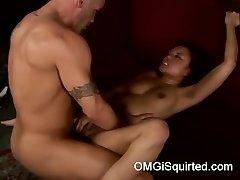 Annie Cruz gets naughty and blasts