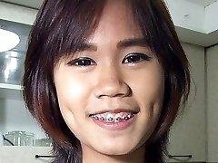 Vapid Chest Thai Girlette On Public Display