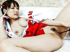 Best Asian damsel Mikuni Maisaki in Crazy JAV uncensored Cosplay video