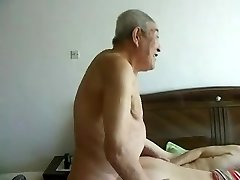 Awesome japanese aged people having great fuck-fest