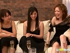 Asian Group Sex Fuck-a-thon