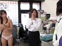 Exotic Asian model Tomoka Kuriyama, Mayuka Arimura, Ayaka Fujikita in Super-naughty Office JAV pin