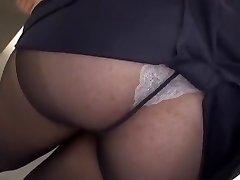 Crazy Japanese tramp Yayoi Yanagida in Cool Big Tits, Office JAV clip