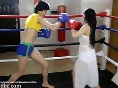 Wrestling 0024; Asian Girl Boxing