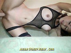 Undemanding Dark-skinned Eyed Asian Anal