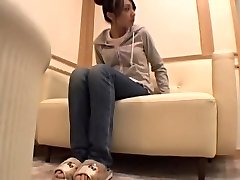 Delicious Jap banged and creamed in voyeur rubdown movie