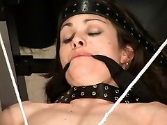 Dame in latex being used by her master