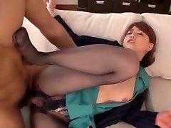Akiho Yoshizawa in Pantyhose Leg Princess