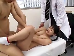 Exotic Japanese whore Love Satome, Anri Kawai in Insane Medical, Frigging JAV clip