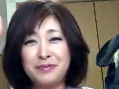 Asian Chubby Mature Creampie Sayo Akagi 51years