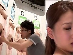 Fabulous Japanese slut in Mischievous Finger-tickling, Cunnilingus JAV movie
