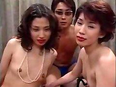 Asian Cougar Orgy