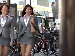 Horny Japanese model Azusa Maki, Kaede Imamura, Makina Kataoka in Finest Compilation, Voyeur JAV movie
