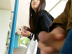asian dame takes a look