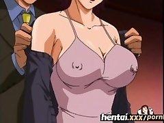 Hentai.gonzo - Busty Milf'S First Threesome