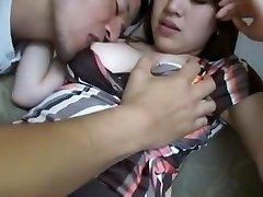 Incredible Japanese model Yui Aikawa in Insane Couple, Stockings JAV scene