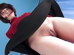 Red-hot Asian Fuckbox Camel-toe Closed-up