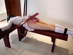 Chinese Ancient Corporal Punishment (Huarong 20 y.o.),Read comment for info