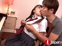 JAPAN HD Japanese Teenager likes red-hot Creampie