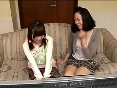 Mom and daughter have fun 2
