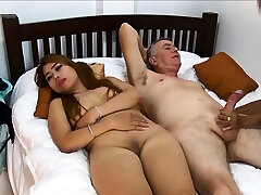Thai girlfriend brings her mate along for a threesome