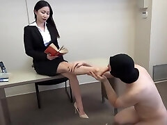 siren thorn footjob with cum shot all over toes