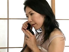 japanese muscle milf drill