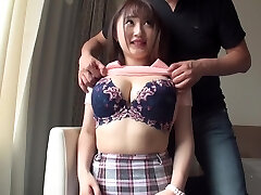 Huge-boobed beauties who are sensitive to orgasm many times